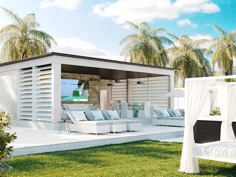 Beach front villa (Platinum Coast) with jacuzzi tub, casa vacanza a Reeds Bay