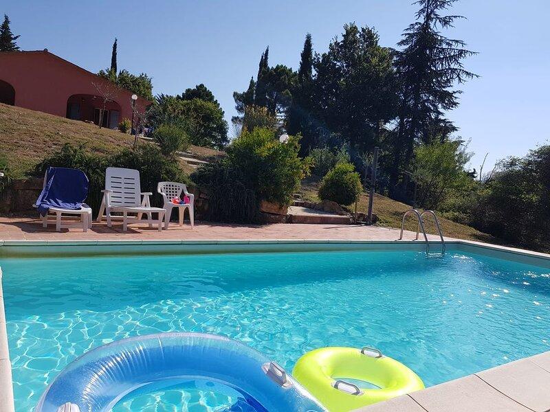 Villa in oliveto con Piscina a Monteverdi Marittimo, holiday rental in Lustignano