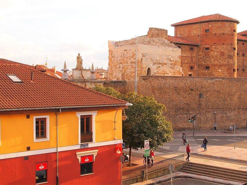 Housingleon- Vistas muralla romana con garaje para motos, alquiler de vacaciones en Provincia de León