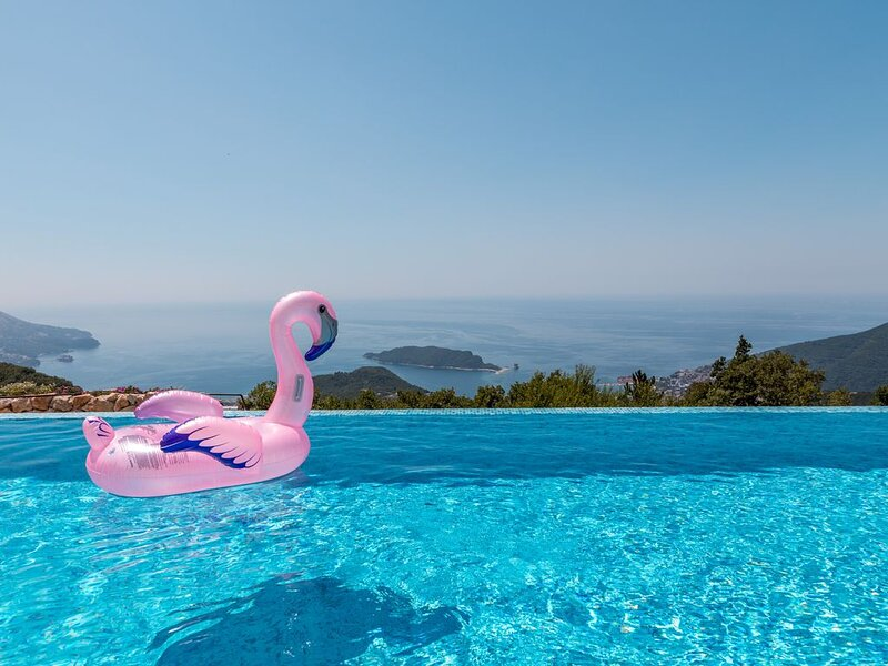 Villa Lavender Hill  With Private Pool and Sea View, vacation rental in Budva Municipality