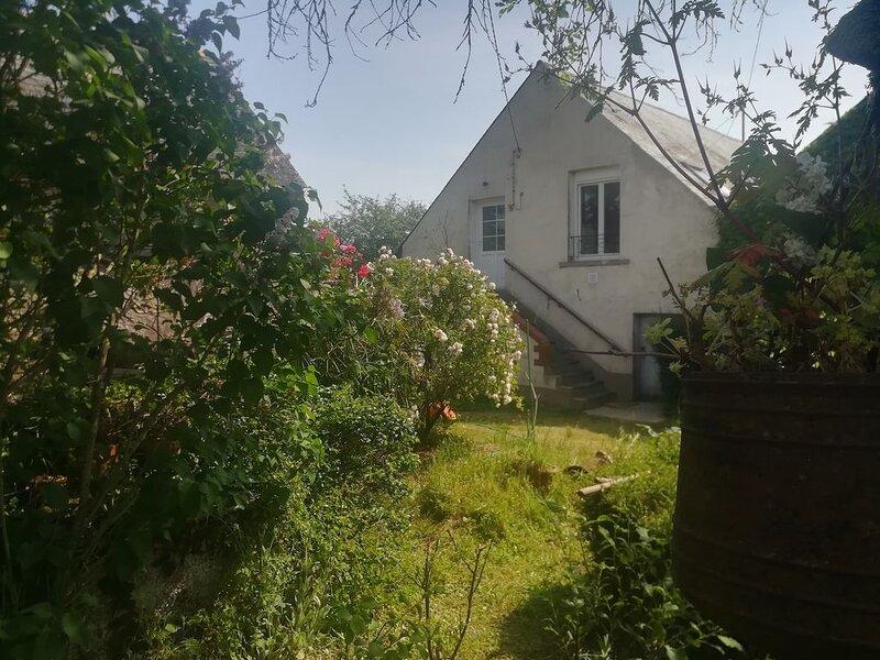 Maison de charme surplombant la Loire, holiday rental in Saint-Aubin-de-Luigne