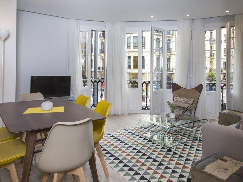 BMA3 by Forever Rentals. Apartamento deluxe 2dormitorios Aire acondicionado Wifi, holiday rental in Barakaldo