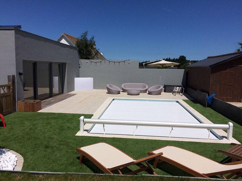 Locquirec Maison 120 m²,6 pers . 3 ch.  850 m plage, alquiler vacacional en Locquirec