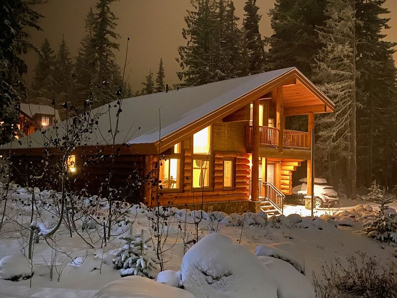 Barlow Pines Lodge - spacious cabin next to ski bowl with a Mt. Hood view, holiday rental in Government Camp