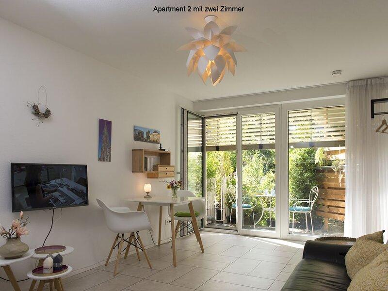 Apartment 2, 34qm, 1 Schlafzimmer, max. 2 Personen, holiday rental in Umkirch