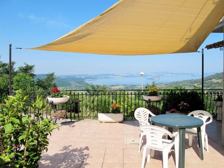 Ferienhaus Casa Martina (BOL550) in Lago di Bolsena - 5 Personen, 2 Schlafzimmer, vacation rental in Montefiascone