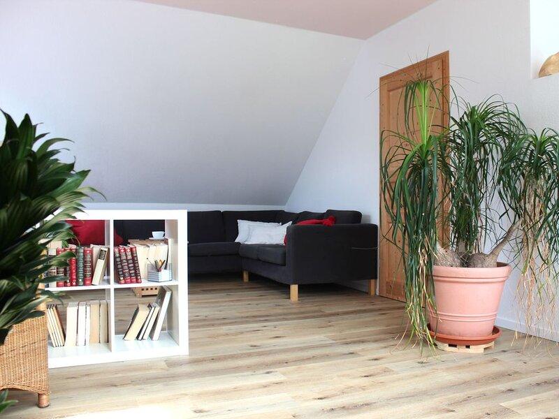 Ferienwohnung, 80 qm, 2 Schlafzimmer, Dachterrasse, max. 4 Personen