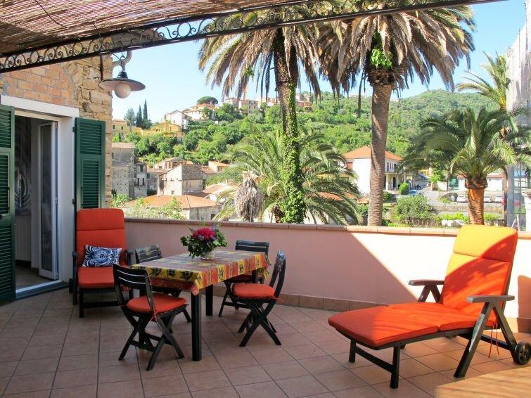 Apartment Casa Sorei  in Dolcedo, Liguria: Riviera Ponente - 6 persons, 2 bedro, aluguéis de temporada em Montegrazie