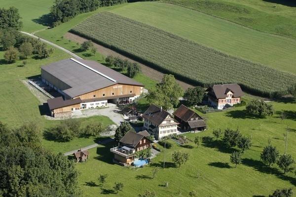 Ferienwohnung Kleinwangen für 5 - 9 Personen mit 2 Schlafzimmern - Ferienwohnung, location de vacances à Obfelden