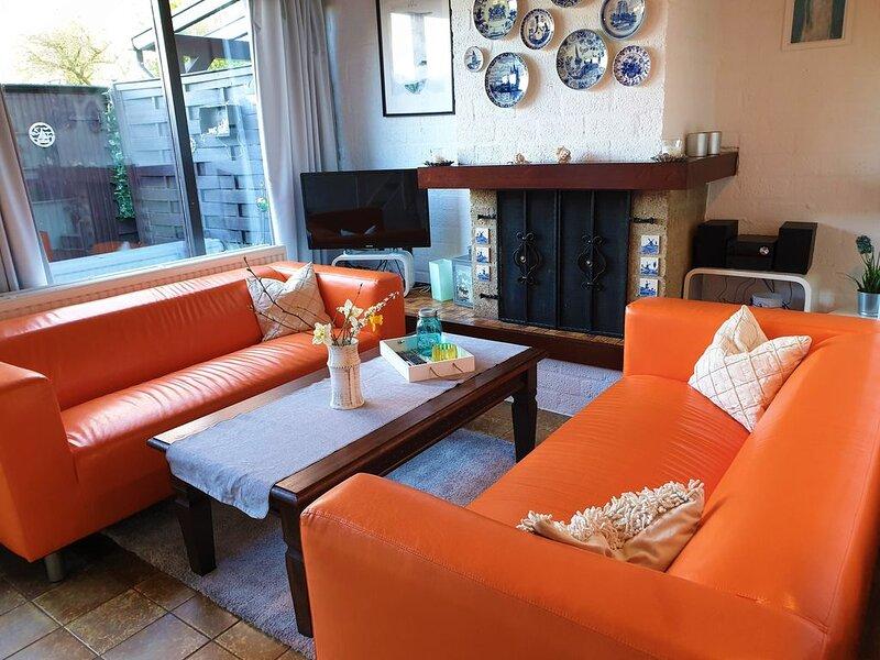 Ihr freundliches Ferienhaus DeKreek V59  4 Pers, gratis WLAN, Herbstferien frei!, holiday rental in Bruinisse