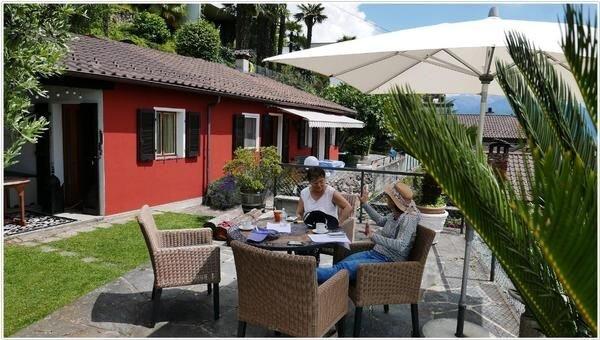 Ferienwohnung Brissago für 2 - 4 Personen mit 2 Schlafzimmern - Ferienhaus, location de vacances à Brissago