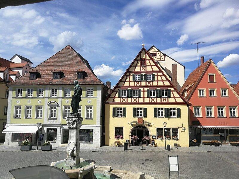 Ferienwohnung  'Zur blauen Traube' Familie Michel, alquiler de vacaciones en Rottenbach
