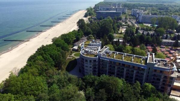 Ferienwohnung Kolobrzeg für 4 - 6 Personen mit 1 Schlafzimmer - Penthouse-Ferien, location de vacances à Ustronie Morskie