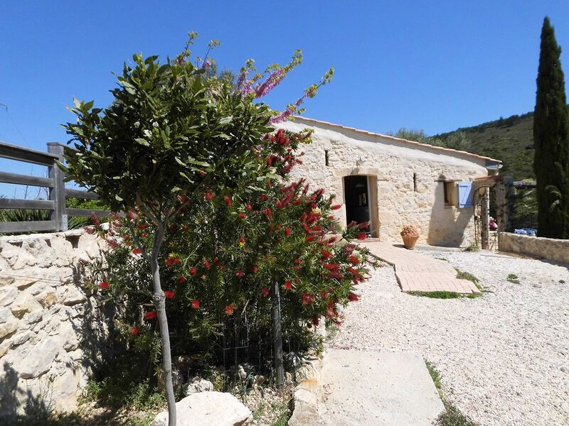 Finca mit Pool am Mittelmeer, vakantiewoning in Saint-Andre-de-Roquelongue