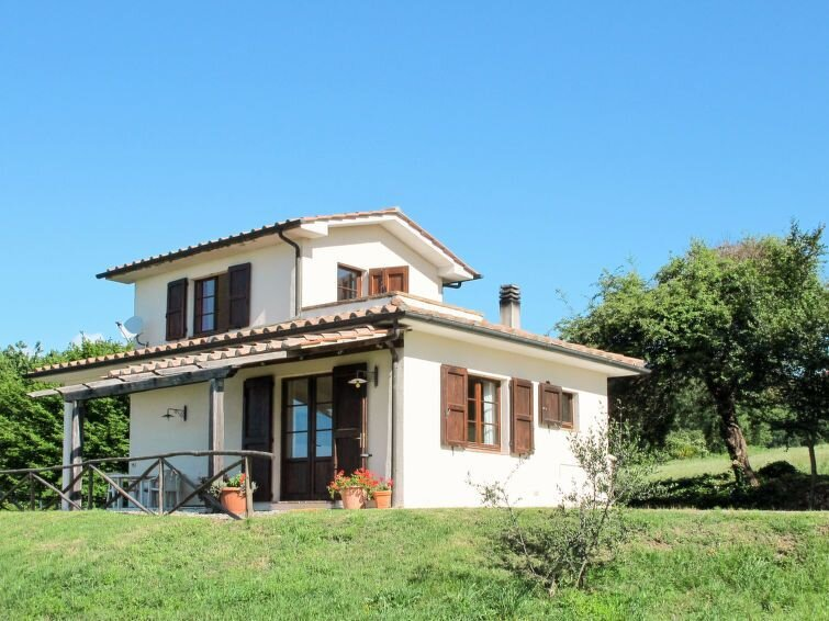 Vacation home Podere Querceto  in Sassofortino (GR), Maremma - 4 persons, 2 bed, alquiler de vacaciones en Sassofortino