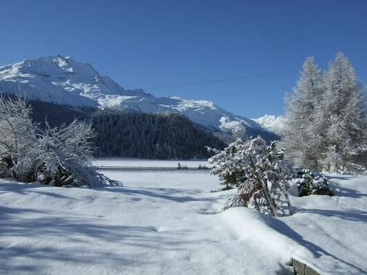 Vacation home Champfèr for 4 - 6 persons with 3 bedrooms - Holiday apartment, holiday rental in Canton of Graubunden