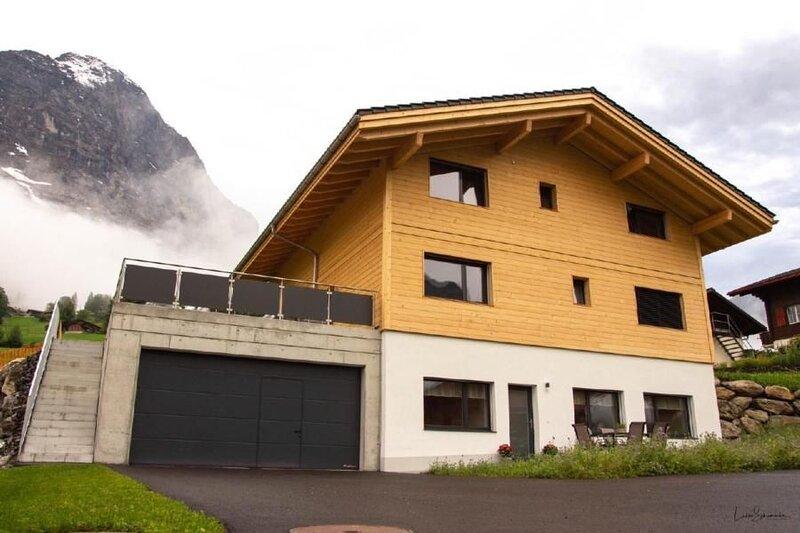 Ferienwohnung Grindelwald für 2 - 4 Personen mit 2 Schlafzimmern - Ferienwohnung, holiday rental in Grindelwald