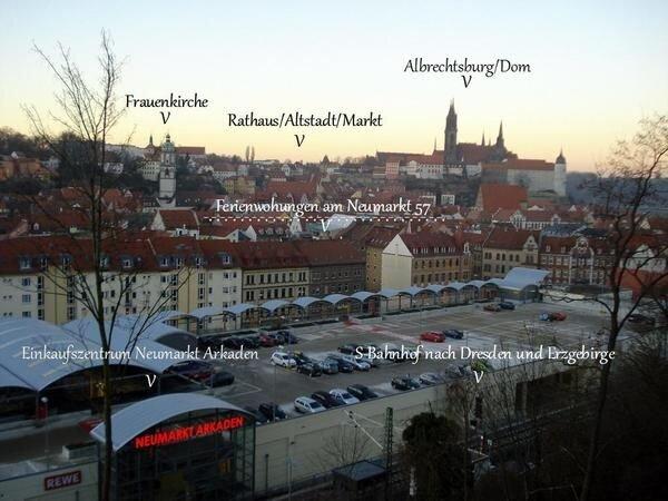 Ferienwohnung Meißen für 1 - 4 Personen mit 1 Schlafzimmer - Historisches Gebäud, location de vacances à Coswig