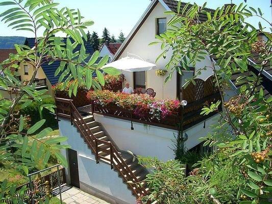 Ferienwohnung Lichtenhain für 1 - 2 Personen mit 1 Schlafzimmer - Ferienwohnung, alquiler de vacaciones en Hinterhermsdorf