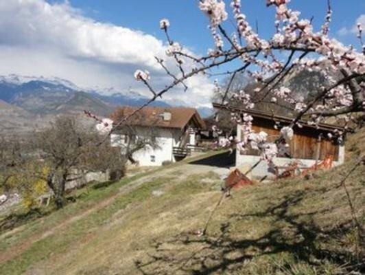 Ferienwohnung Sion für 3 - 5 Personen mit 2 Schlafzimmern - Ferienwohnung, vacation rental in Grimisuat
