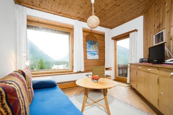 Ferienwohnung Pontresina für 2 - 5 Personen mit 2 Schlafzimmern - Ferienwohnung, holiday rental in Pontresina