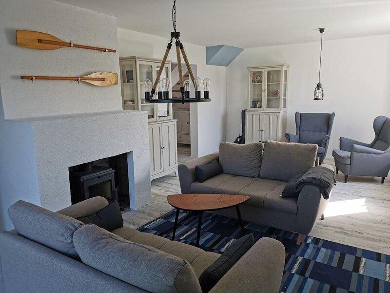 Fühlt euch wie Zuhause – in eurer Wohnung in Boddennähe, casa vacanza a Hessenburg