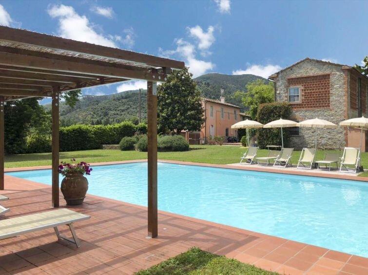 Ferienhaus Il Rustico (LUU410) in Lucca - 6 Personen, 2 Schlafzimmer, vacation rental in Castelvecchio
