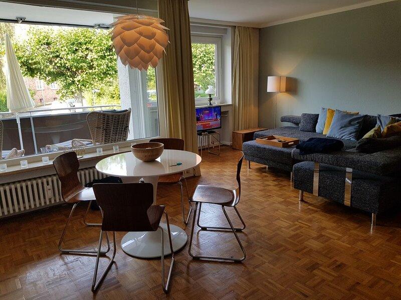 Apartment 'Klar Schiff' Travemünde - fussläufig zum Strand, casa vacanza a Travemuende