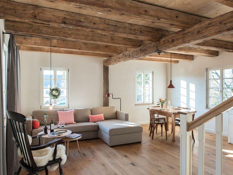 Ihr Zuhause in Lahr,  in einem komplett sanierten Denkmal, 2-Etagen-Wohnung, holiday rental in Friesenheim