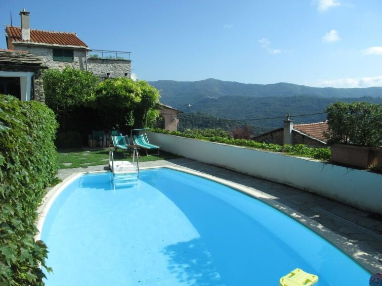 Vacation home Casa Bellissimi  in Dolcedo - Bellissimi, Liguria: Riviera Ponent, holiday rental in Lecchiore