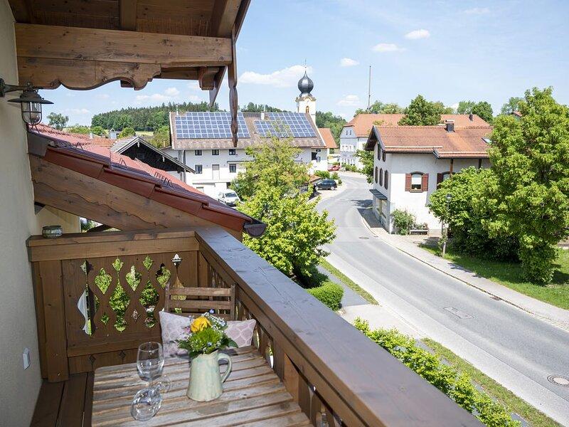 Beim Plößl - Dorfblick, location de vacances à Trostberg an der Alz