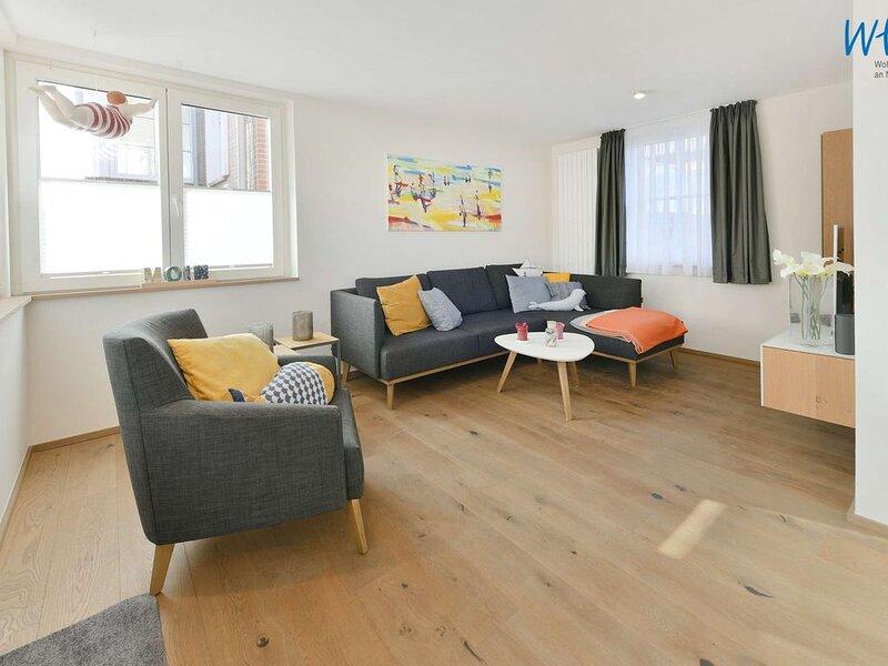 Komfortable Ferienwohnung mit sonniger Terrasse!, location de vacances à Norderney