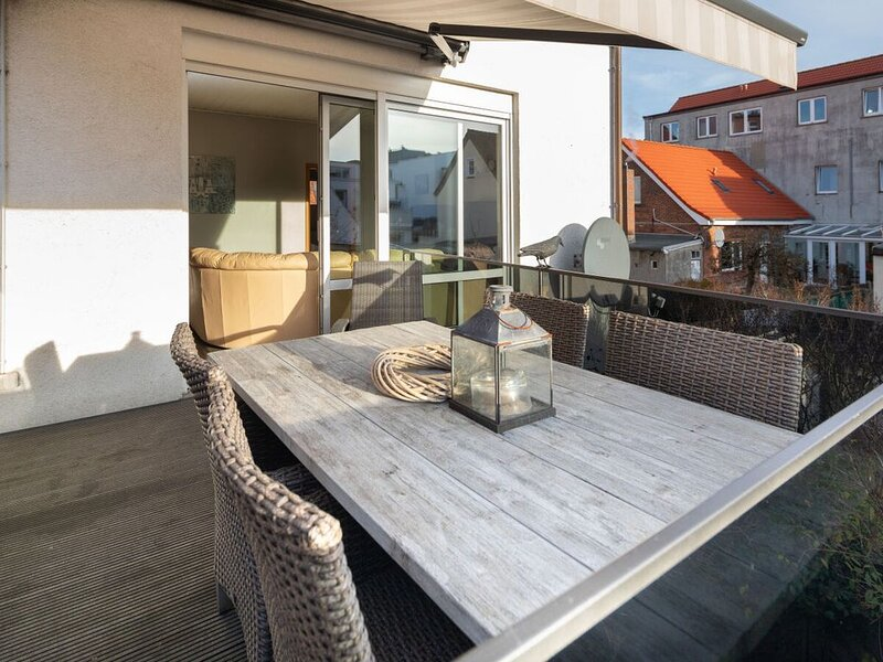 Dünenwind, Innenstadt, Balkon, Wlan, ruhig, zentral, casa vacanza a Norderney