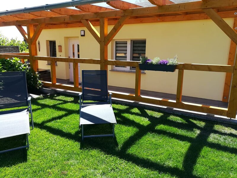 Ferienbungalow 'Paradiesweg', holiday rental in Joachimsthal