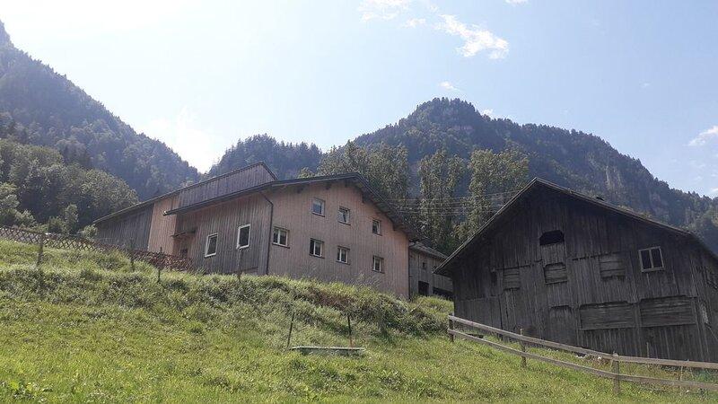Ferienhaus 'Zum Schutzpatron' im Bregenzerwald für bis zu 8 Personen, holiday rental in Fontanella
