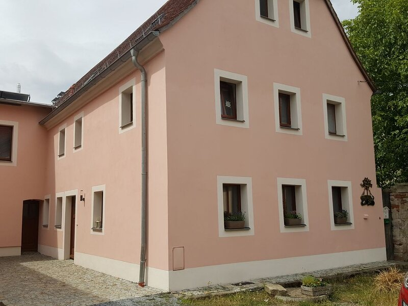 Ferienwohnung im  Bauernhaus im wunderschönen Maxen in Müglitztal, nahe Dresden., location de vacances à Rabenau