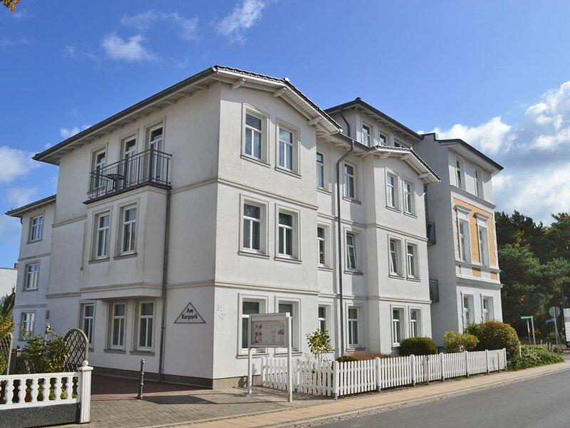 Ferienwohnung mit Saunazugang in Ahlbeck auf Usedom, holiday rental in Seebad Ahlbeck