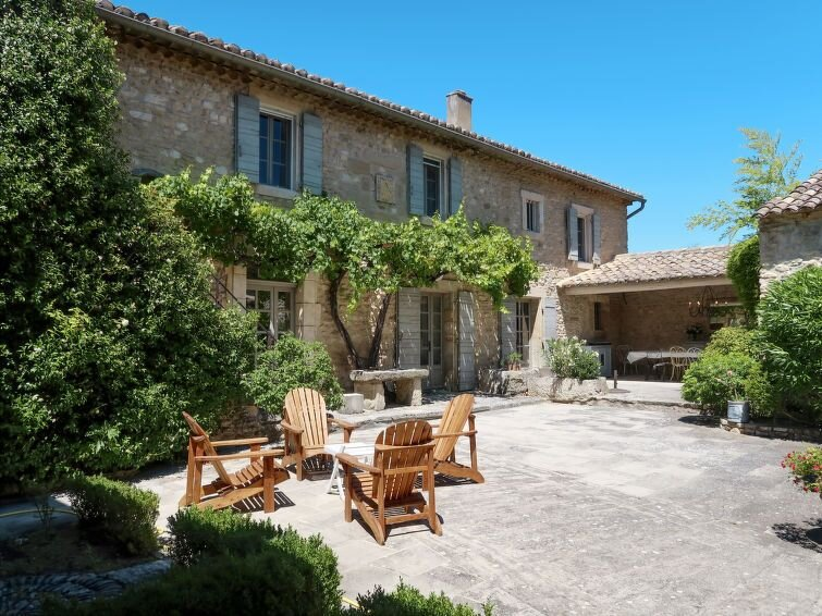 Vacation home Mas de l'Ombrière  in Cabrieres d'Avignon, Luberon and surroundin, holiday rental in Coustellet