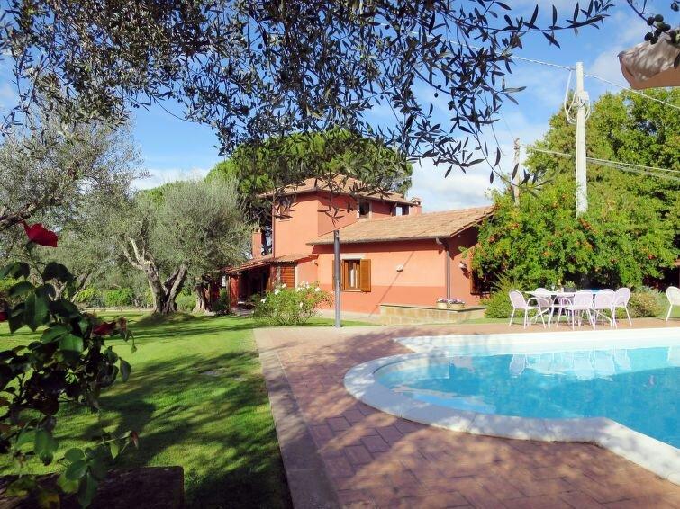 Ferienhaus Casal di Yuri (LVC120) in Lago di Vico - 8 Personen, 4 Schlafzimmer, vakantiewoning in Cura di Vetralla