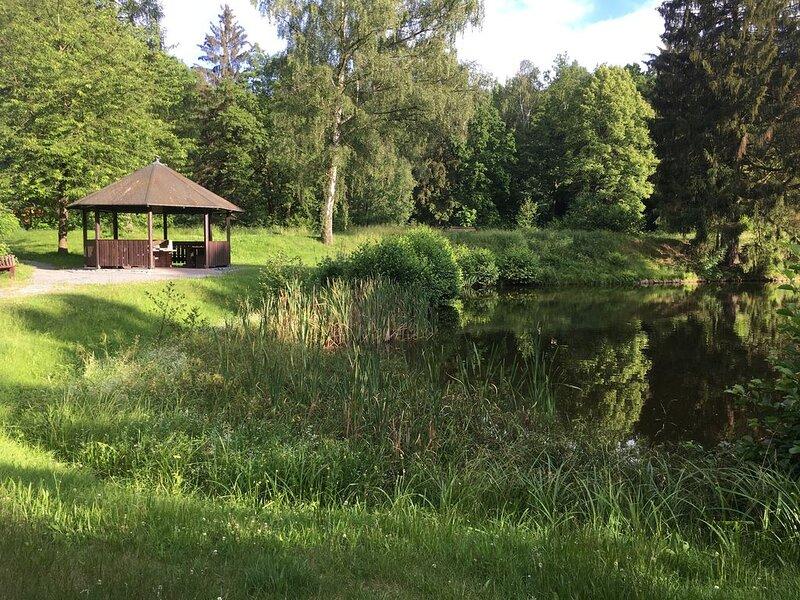 Idyllische Ferienwohnung in der Natur, alquiler de vacaciones en Hinterhermsdorf