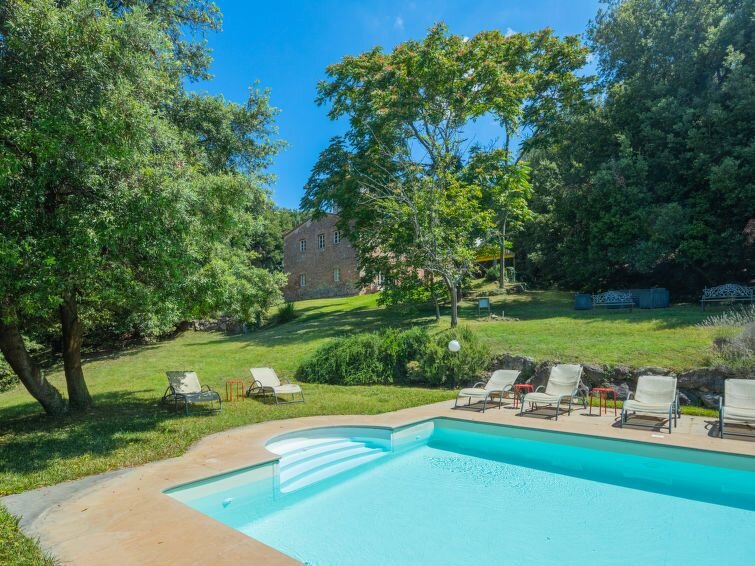 Vacation home Villa Linchiano  in Gambassi Terme (FI), Florence and surrounding, casa vacanza a Volterra