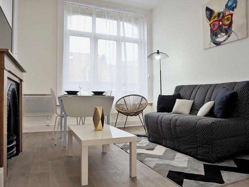 Charmant appartement cosy proximité centre ville de Boulogne-sur-mer, holiday rental in Saint-Leonard