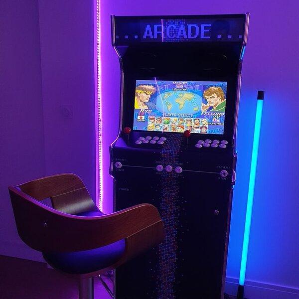 Tours Centre : Rooftop & borne d'arcade (80m²), location de vacances à Saint-Pierre-des-Corps