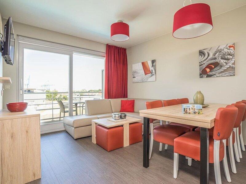 Appartement pour 2 adultes et 3 enfants, location de vacances à Zeebrugge