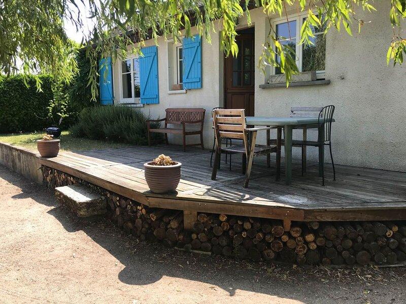 Maison entière pour 4/5 personnes, holiday rental in Saint-Hilaire-Saint-Mesmin