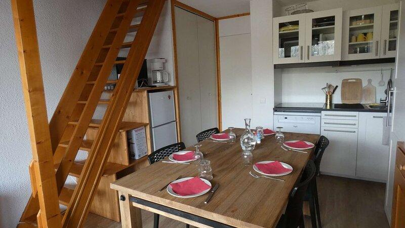 Appartement 3 pièces rénové, situé sur le hameau Crève Coeur – semesterbostad i Valmorel