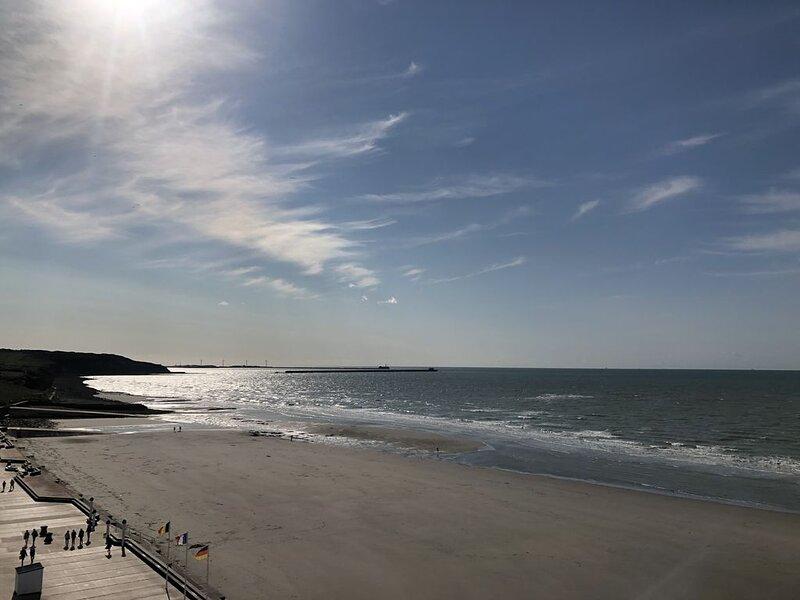 Vue Mer et Pieds dans l'Eau WIMEREUX, location de vacances à Pas-de-Calais