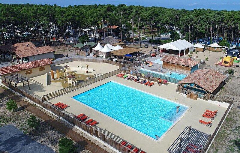 Mobilhome 4/6 personnes accès direct plage, alquiler de vacaciones en Vielle-Saint-Girons