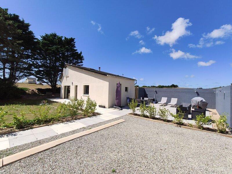 Maison à 150m de la plage, proche de Portbail, location de vacances à Saint-Jean-de-la-Rivière