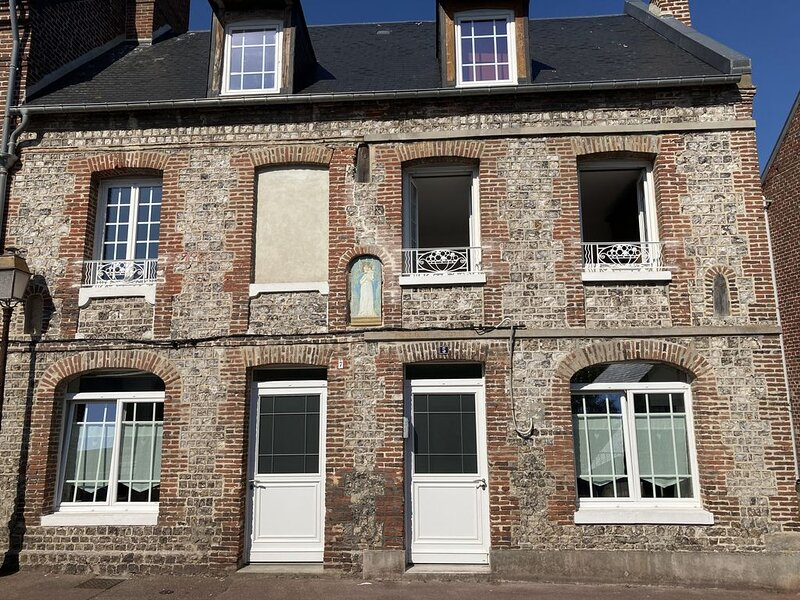Historic city house, vacation rental in Seine-Maritime